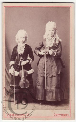 The Circassian Violinists or Musical Albinos