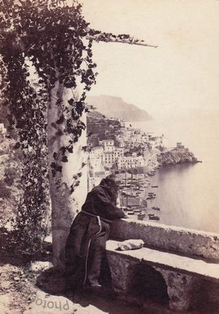 A monk at Amalfi