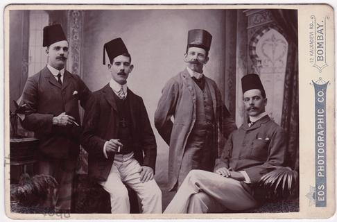 Four Europeans in Bombay