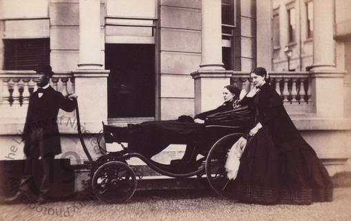 An invalid at the Bristol Hotel, Brighton