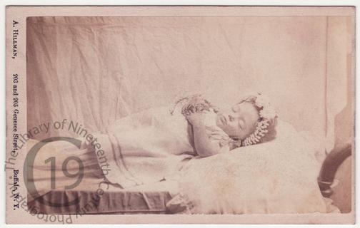 A baby in a bonnet