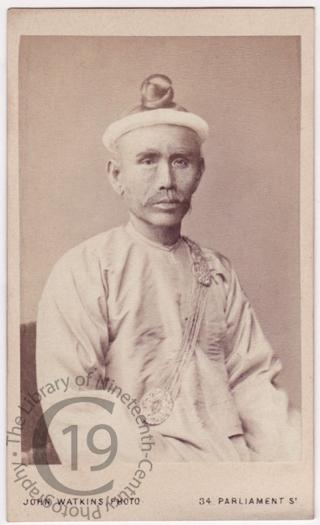 Izaya Dangyee, Burmese attaché or secretary