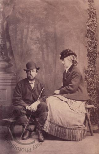 Hon Augustus Gough-Calthorpe and his wife