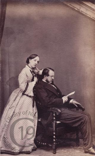 Hon Somerset John Gough-Calthorpe and his wife