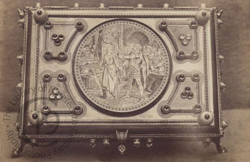 A Neo-Gothic casket