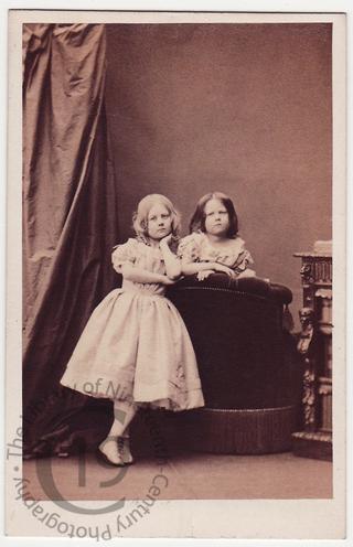 Amicia and Florence Monckton Milnes