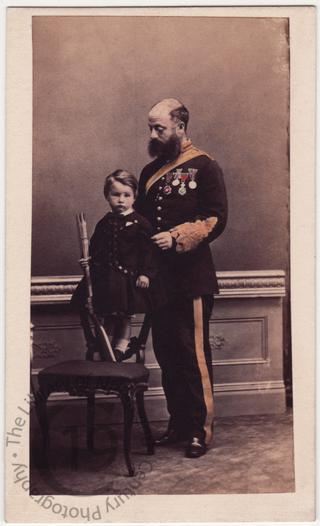 Major William Bolton and Harry Bolton