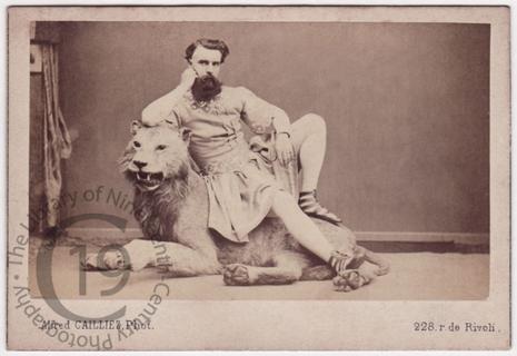 Crockett the Lion-Tamer