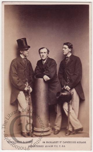 Fred Dewar and Squire Bancroft
