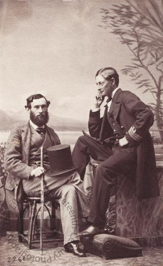Major Earle and Captain Lambert