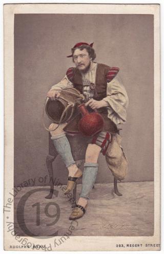 Charles Fechter in 'Bel Demonio'