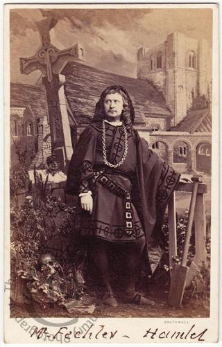 Charles Fechter as Hamlet