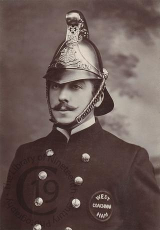 A West Ham fireman