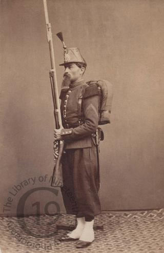 A French soldier
