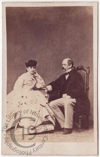 Otto von Bismarck and Pauline Lucca