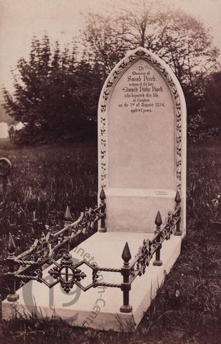 Sarah Finch, died 1876
