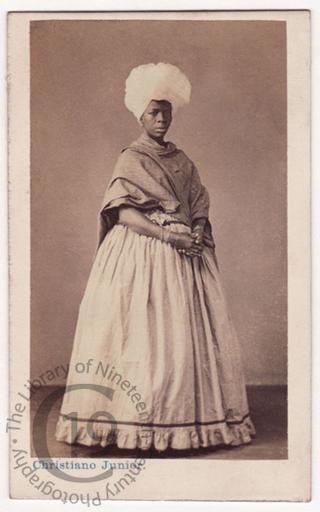 A Brazilian woman