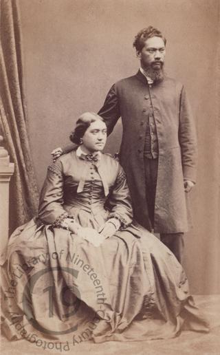 Reverend and Mrs William Hoapili Kaauwai