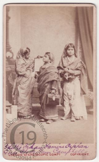 Indian Famine Orphans