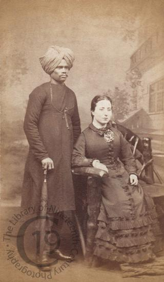 Unidentified couple