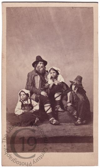 A family of Ciociari