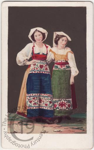 Two Roman girls