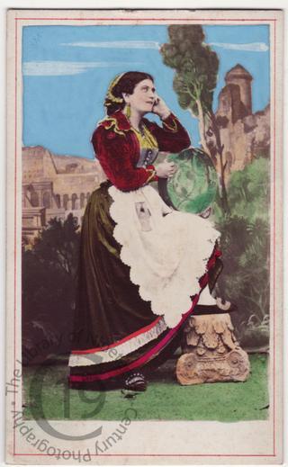 Roman girl from Trastevere