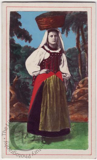 Roman peasant girl