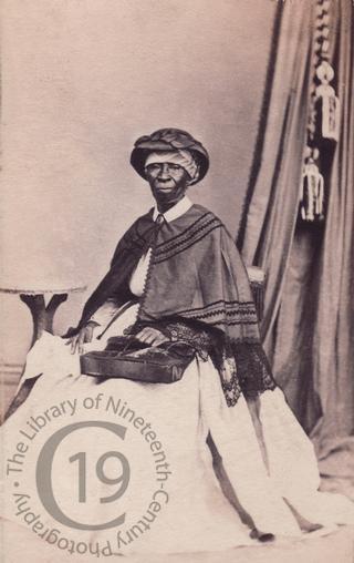 A Jamaican woman
