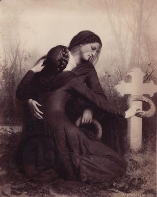 'Le Jour des Morts' by William Bouguereau