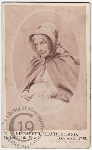 Elizabeth Leatherland, aged 111