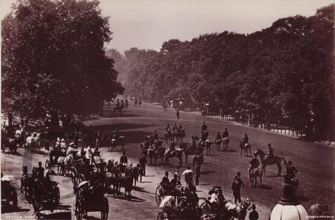Rotten Row in Hyde Park