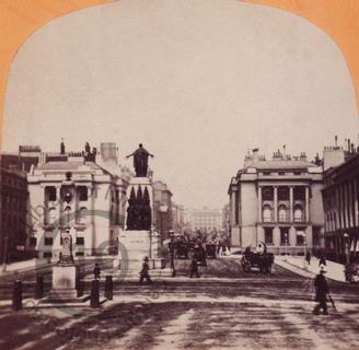 The Crimean War Memorial in Waterloo Place