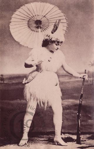 Lydia Thompson as 'Robinson Crusoe'