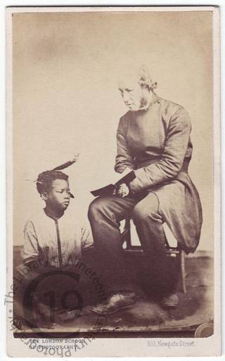 Bishop Mackenzie and unidentified boy