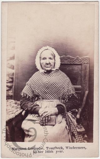 Margaret Longmire, aged 104