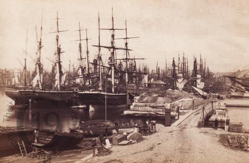 Ships at Marseilles
