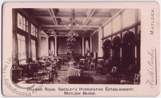 Drawing room at Smedley's Hydro