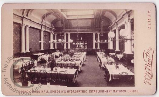 Dining room at Smedley's Hydro