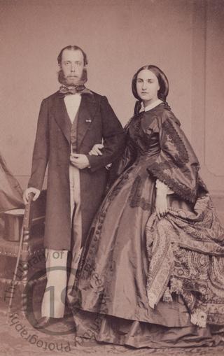 Emperor Maximilian and Empress Carlotta of Mexico