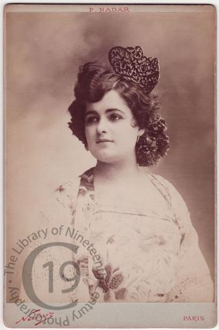Mlle Cortez as 'Carmen'