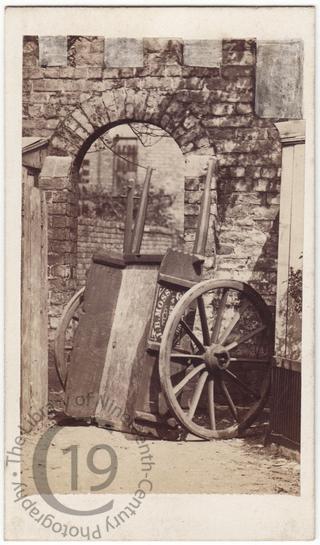 Cart of John Barrow Moss