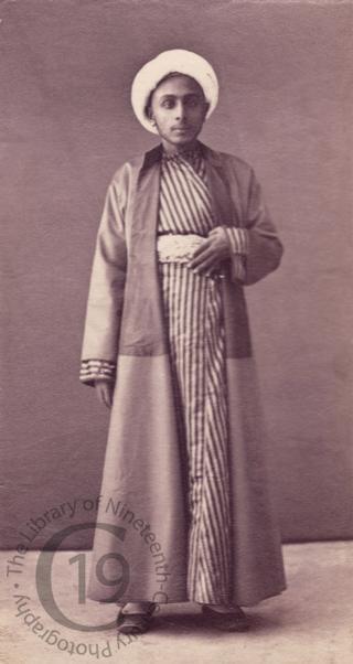 Coptic scribe
