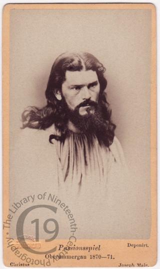 Jesus, 1870