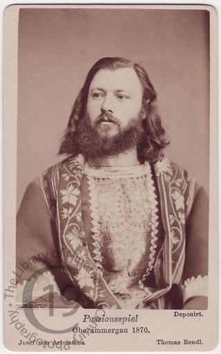 Joseph of Armathea, 1870