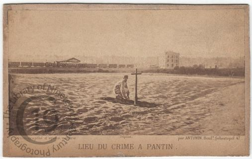 Site of the murders at Pantin
