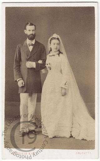 Mr and Mrs Frank George Linsell