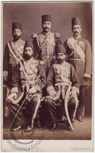 The Shah of Persia's suite