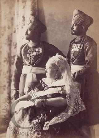 Queen Victoria, Mustapha and Chidda