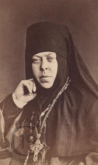 A Russian Orthodox nun